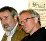 """Gerold Lienhart und der """"Oberkellner"""" Jürgen Leutner"""