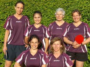 Meistermannschaft der Damen