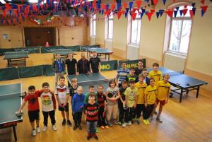 Die Teilnehmer mit dem Trainerteam
