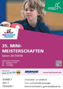 Mini-Meisterschaften am 17.02.2018